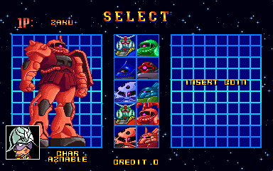 Char Aznable -Character Select : - User Screenshot