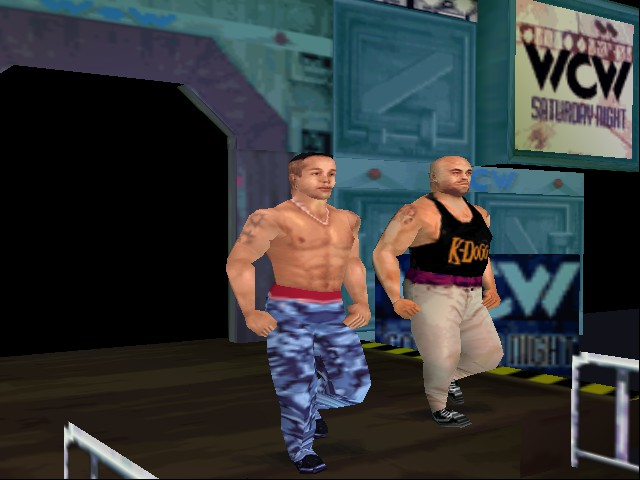 WCW Mayhem - Filthy Animalz - User Screenshot