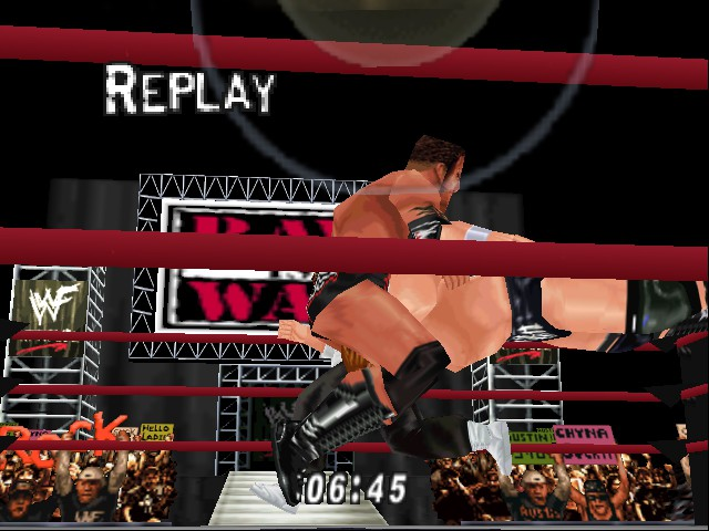 WWF WrestleMania 2000 - Move Theft - User Screenshot