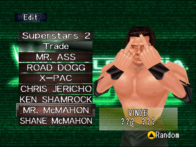 WWF WrestleMania 2000 - YOU