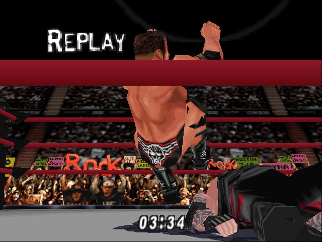 WWF WrestleMania 2000 - THE MOST ELECTRICFYING MOVE - User Screenshot
