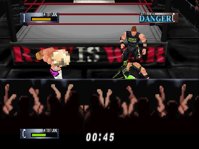 WWF WrestleMania 2000 - HEY! Pull your pants up! - User Screenshot