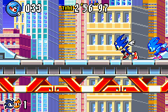 Sonic Advance 3 - super speed - User Screenshot