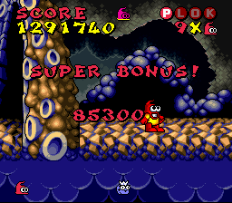 Plok! - Last Super Bonus - User Screenshot