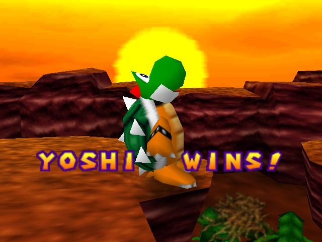 Mario Party - Yoshi having a sezure!!!!!! - User Screenshot