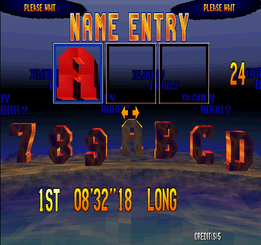 Bloody Roar 2 (World) - win all - User Screenshot