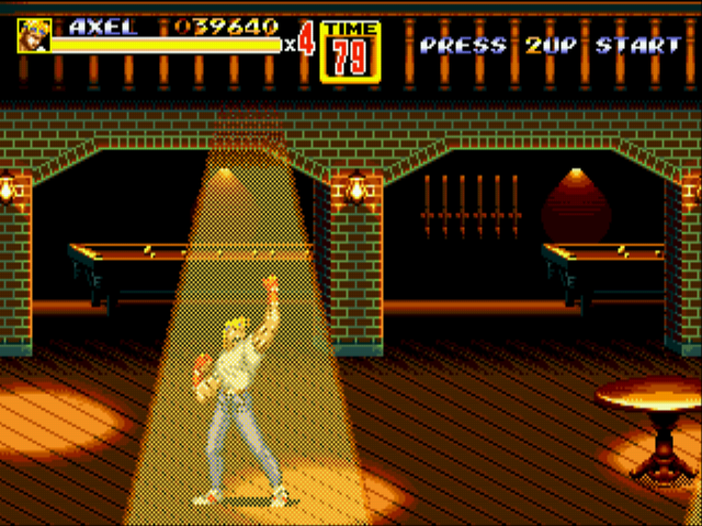 Streets of Rage 2 - hahaha... - User Screenshot