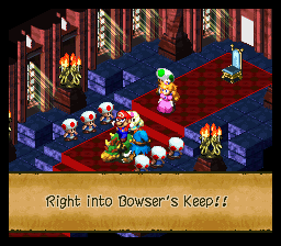 Super Mario RPG - Legend of the Seven Stars - BOWSER GOT HIS ASS HAND TO HIM - User Screenshot