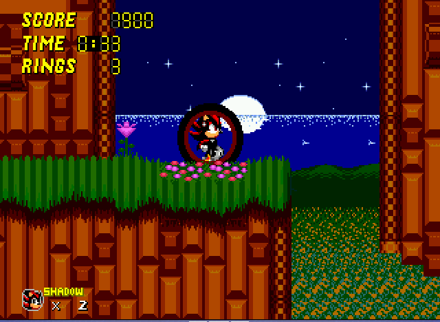 Sonic 2 - Project Shadow - chaos...CONTROL!!!! - User Screenshot