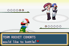 Pokemon Ash Gray (beta 2.5z) - First meet to Team Rocket. - User Screenshot