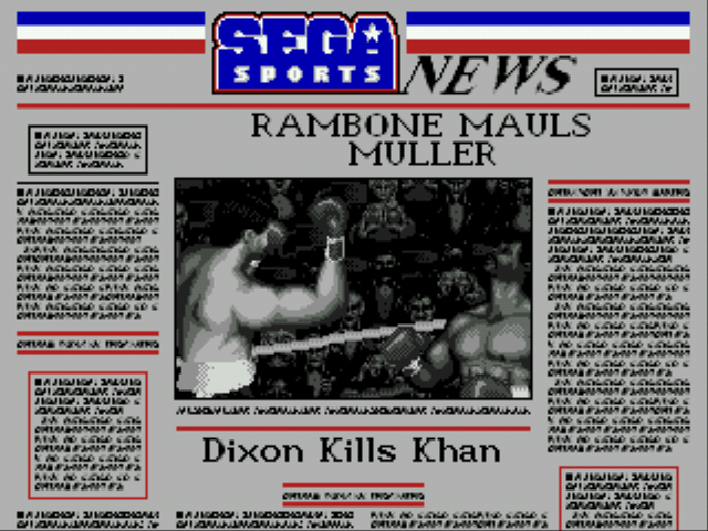 "Greatest Heavyweights - ""The camera loves Rambone!"" - User Screenshot"