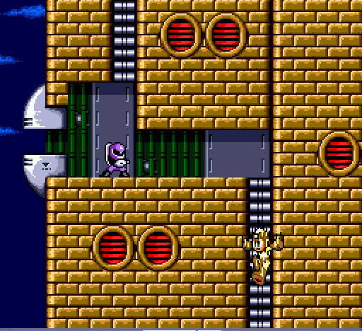 Mega Man - The Wily Wars - Mid-Air Kick - User Screenshot