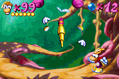 Rayman Advance - OUCH!!! That