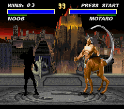 Ultimate Mortal Kombat 3 - look at that thing - User Screenshot