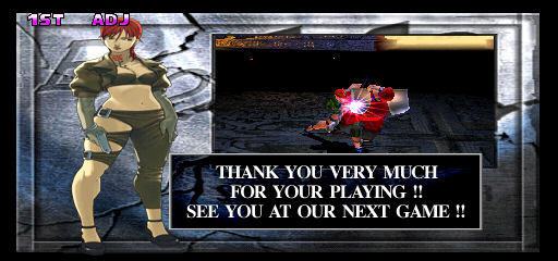 Street Fighter EX 2 Plus (USA 990611) - Ending  -  - User Screenshot