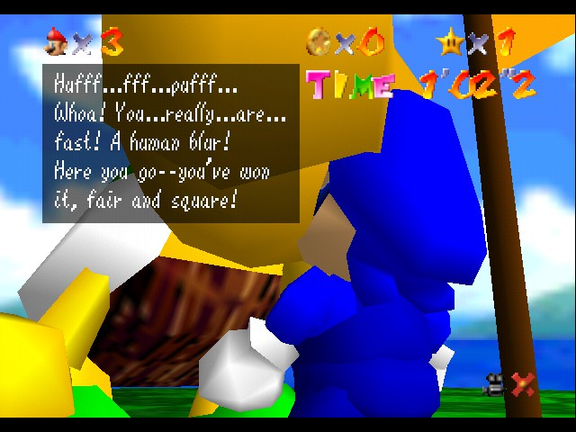 Super Sonic 64 - something is in there.... - User Screenshot