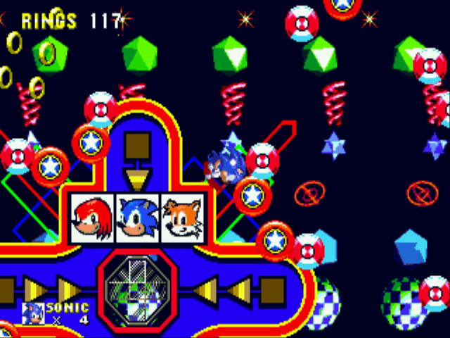 Sonic and Knuckles - Blue team! - User Screenshot