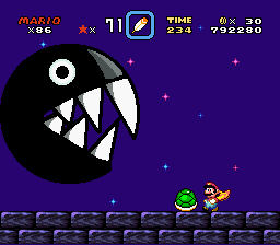 Brutal Mario - Battle  - Last one attack big chomp  - User Screenshot
