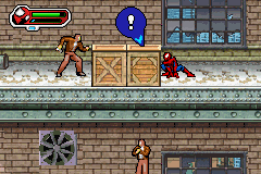 Ultimate Spider-Man - Spider-Man vs. Gun Man - User Screenshot
