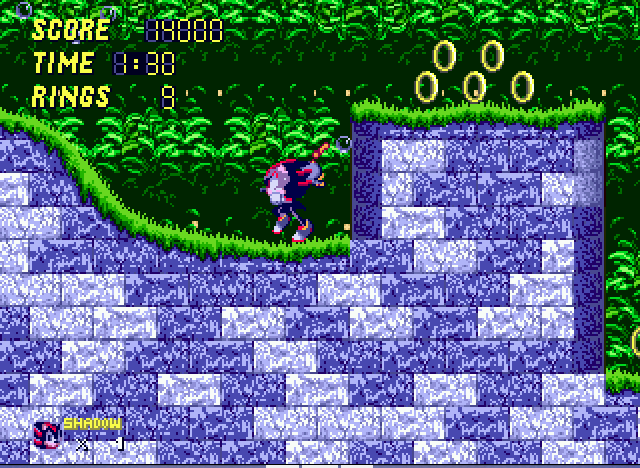 Sonic 2 - Project Shadow - i nhpe i won