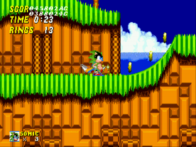 Sonic 2 XL - still cool even fat - User Screenshot