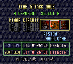 Super Punch-Out!! - Misc Time Trials Bets Scores - 20 Seconds Less than the old one! - User Screenshot