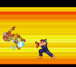 Street Fighter Alpha 2 - super finish 1 - User Screenshot