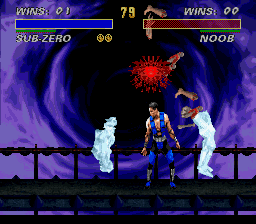 Ultimate Mortal Kombat 3 - ouch!!!!! - User Screenshot