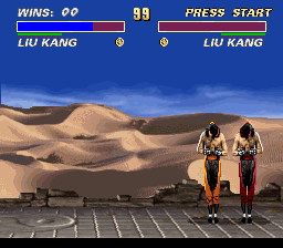 Ultimate Mortal Kombat 3 - clitch!!! - User Screenshot
