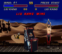 Ultimate Mortal Kombat 3 -  - User Screenshot