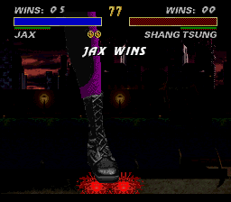 Ultimate Mortal Kombat 3 - crunch!!! - User Screenshot