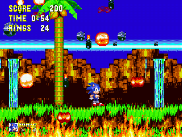 Sonic and Knuckles & Sonic 3 - what are you starin at - User Screenshot