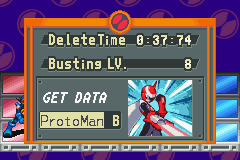 Mega Man Battle Network - busting level 8 against protoman - User Screenshot