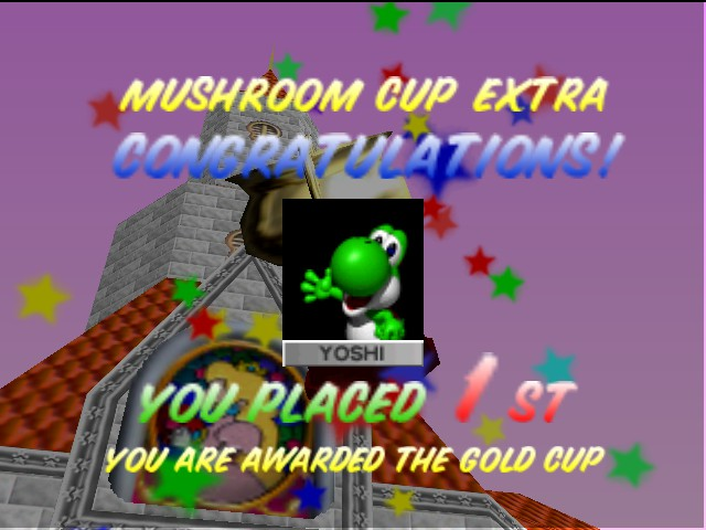 Mario Kart 64 - no one can beat me not even u - User Screenshot