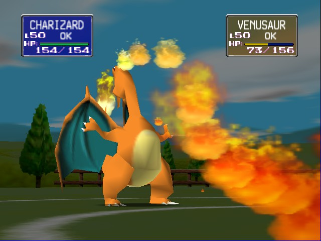 Pokemon Stadium - The GREAT MIGHTY CHARIZARD! - User Screenshot