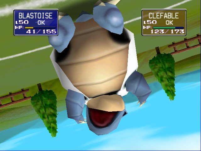 Pokemon Stadium - Lost Gravity... :( - User Screenshot