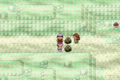 Pokemon Sapphire - back shes mine!! - User Screenshot