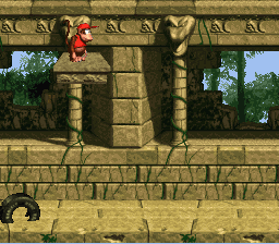 Donkey Kong Country - banana temple 3 - User Screenshot