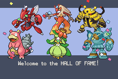 Pokemon - Yet Another Fire Red Hack - Ending  -  - User Screenshot
