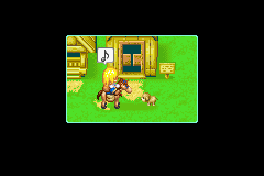 Harvest Moon - More Friends of Mineral Town - Riding a gay horse - User Screenshot