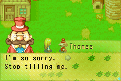 Harvest Moon - More Friends of Mineral Town - I gonna plant seeds in you. - User Screenshot