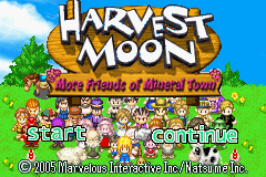 Harvest Moon - More Friends of Mineral Town - Da beginning - User Screenshot