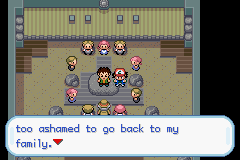 Pokemon Ash Gray (beta 2.5z) - Because you killed your wife? - User Screenshot