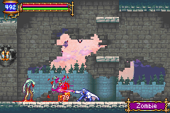 Castlevania - Aria of Sorrow - Poison Blade - User Screenshot
