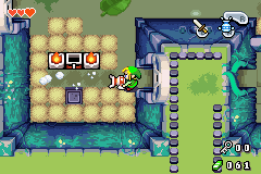 Legend of Zelda, The - The Minish Cap - have a dirty  basement? call links cleaning! - User Screenshot