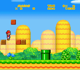 New Retro Mario Bros - Mario Flys - User Screenshot