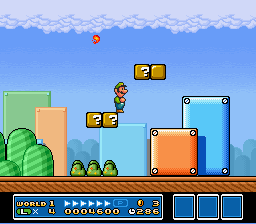 Super Mario All-Stars - Luigi Time! - User Screenshot