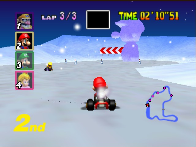 Mario Kart 64 - Second Place... or is it...? - User Screenshot