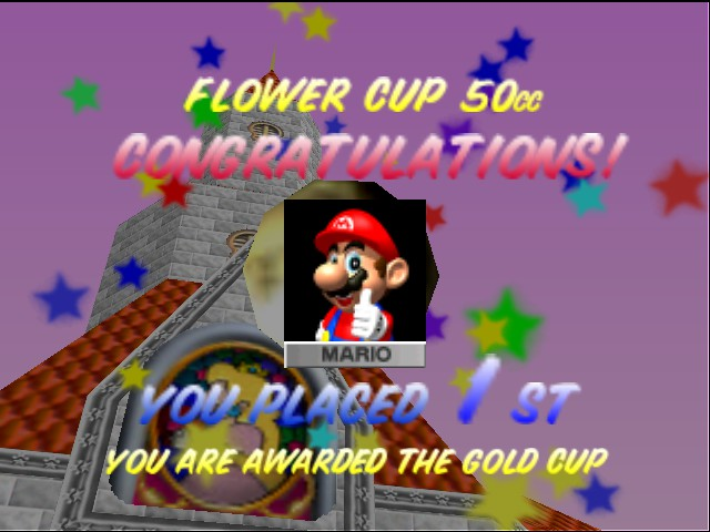 Mario Kart 64 - HEHE, I GOT IT! - User Screenshot