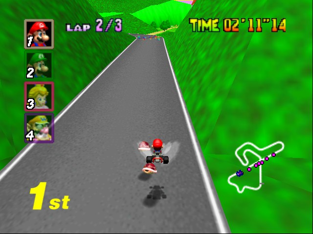 Mario Kart 64 - POMP! - User Screenshot